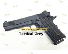 Unicorn Precision Inc x Angry Gun Custom 1911 Gas Blow Back Pistol ( Basic Version ) ( Tactical Grey